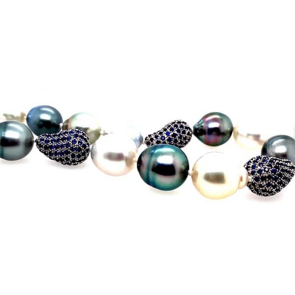 Pearl and Sapphire Strand