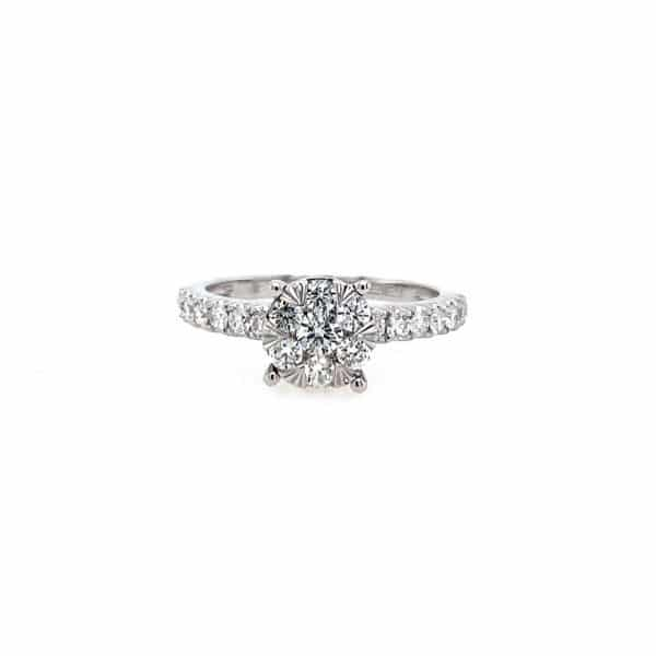 Cluster Engagement Ring by Effy