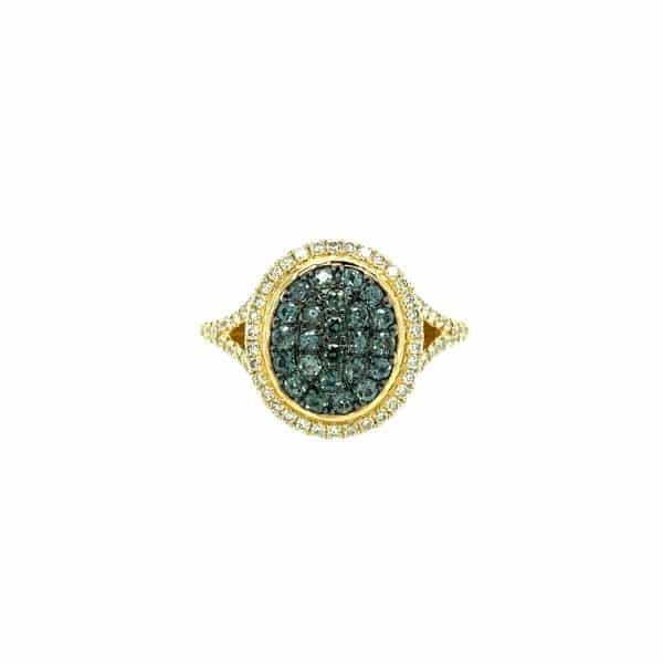 Alexandrite and Diamond Ring by Effy