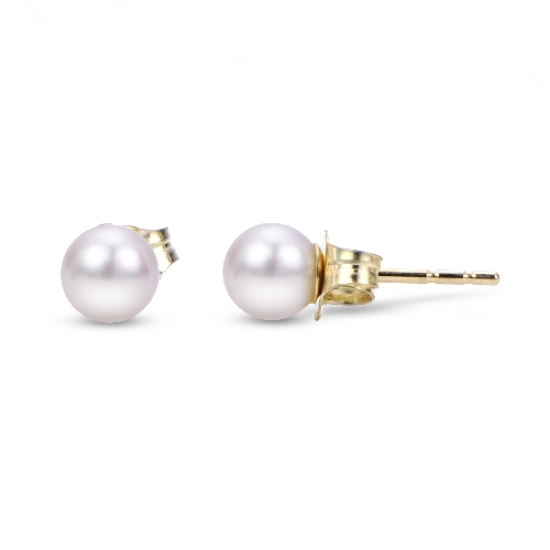 Cultured Akoya Pearl Studs