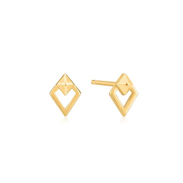 Spike Diamond Shape Studs