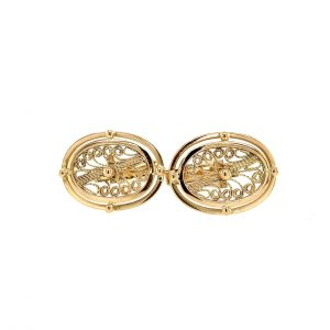 Estate Filigree Cufflinks