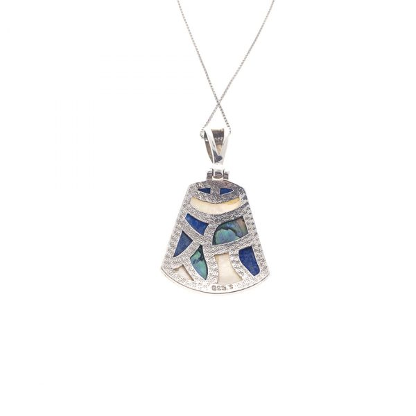 Estate Mother of Pearl and Abalone Pendant